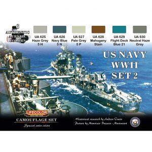 LifeColor U.S. Navy WWII Set 2