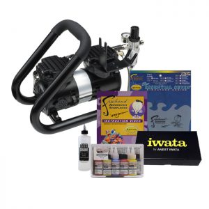 Iwata Power Jet Plus Handle Tank Airbrush Kit
