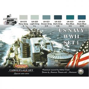LifeColor US Navy WWII Set 1