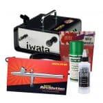 Iwata Professional Mobile Nail Art Kit with Ninja Jet Compressor