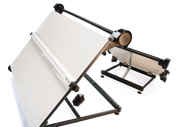Priory A2 Desktop Drawing Board - Back & Front