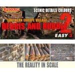 LifeColor Easy 3 Scenic Detail Colours: S. Europe Village – Debris and Rubble Set 2 (22ml x3)