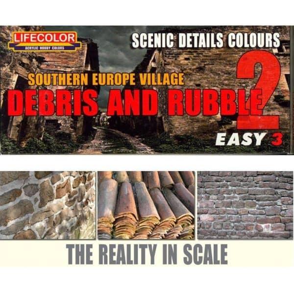 Debris and Rubble Set