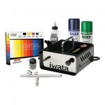 Iwata Modeller Airbrush Kit with Ninja Jet Compressor