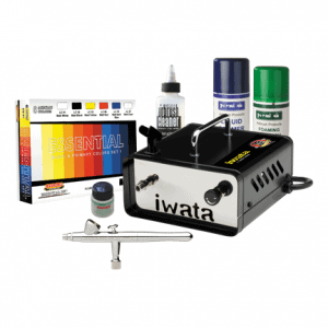 Iwata Modeller Airbrush Kit with Ninja Jet Compressor