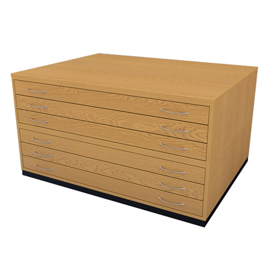 6 Drawers Plan Chest AO