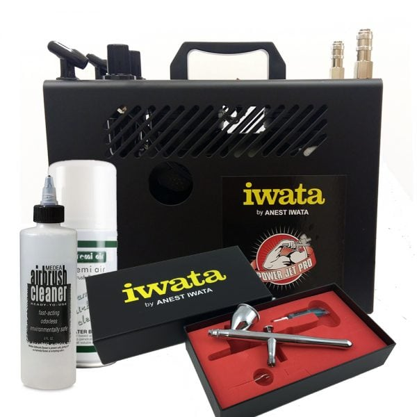 Iwata Professional Make-Up Kit with Power Jet Pro Compressor