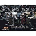LifeColor Shades of Black Set