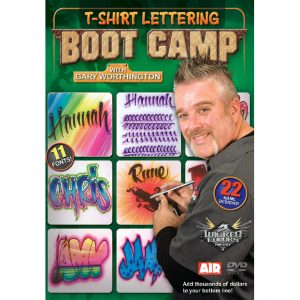 T-Shirt Lettering Boot Camp with Gary Worthington (DVD)