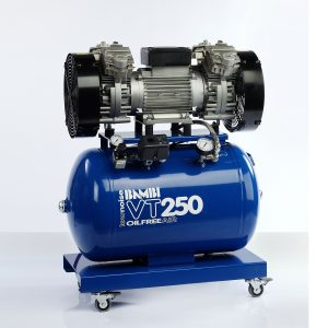 Bambi VT250 Oil Free Ultra Low Noise Compressor