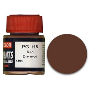 LifeColor Pigment: Red Dry Mud (22ml)