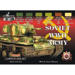 LifeColor Soviet WWII Army Set
