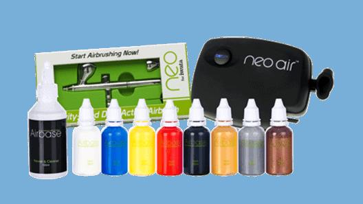 Neo for Iwata Body Art Airbrush Kit