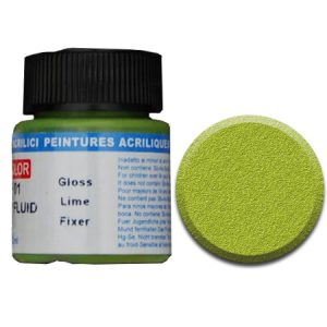 LifeColor Fixer Fluid: Gloss Lime (22ml)