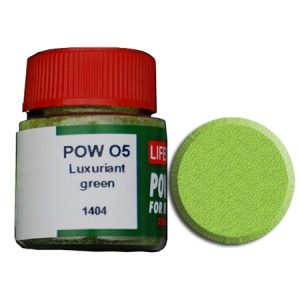 LifeColor Powder: Luxuriant Green (22ml)