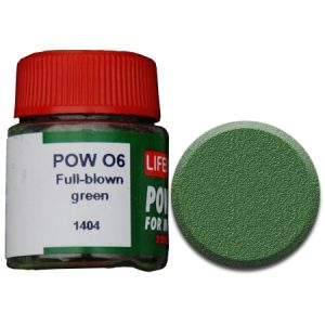 LifeColor Powder: Full-blown Green (22ml)