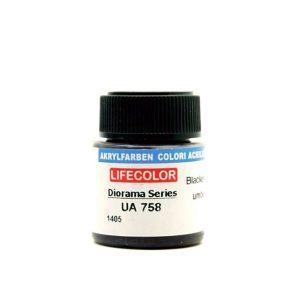 UA758 LifeColor | Blackened Umber | FS 37056 | 22ml
