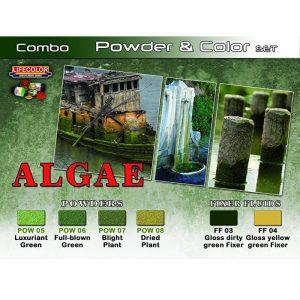 LifeColor Algae Powder and Colour Set