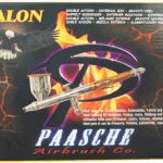 Paasche Talon 3F Airbrush With All Heads