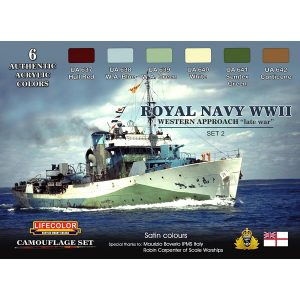 LifeColor Royal Navy WWII Western Approach