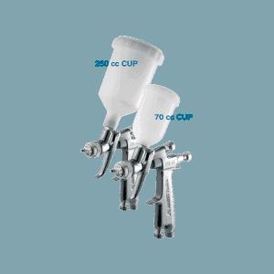 Iwata LPH-80 LVLP Spray Gun with 0.8mm Nozzle 250 & 70cc Cups