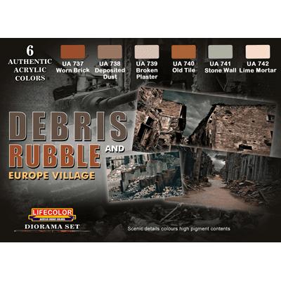 LifeColor Debris and Rubbleset