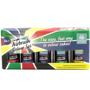 Squires Kitchen Professional Airbrush Colour - Set 1