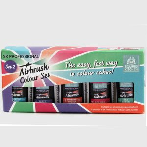 Squires Kitchen Professional Airbrush Colour - Set 2