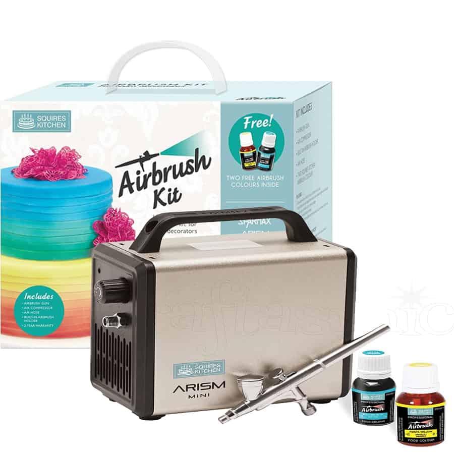 Airbrush Kit For Cake Decorating Uk : Squires Kitchen Professional Airbrush kit Cake ...