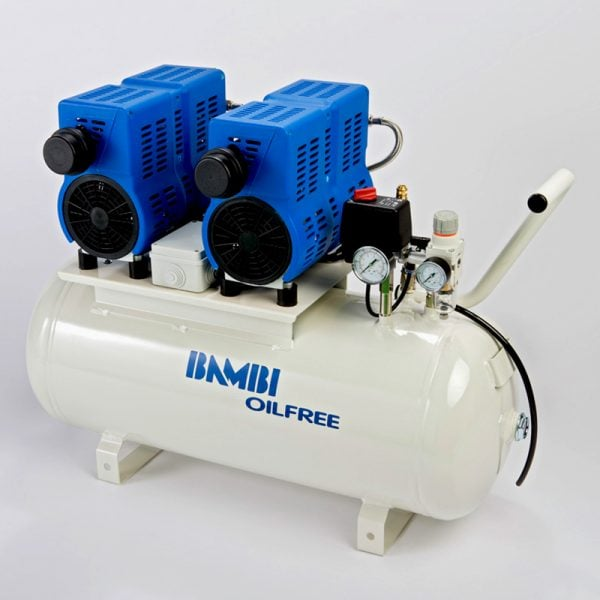 Bambi PT24D Oil Free Low Noise Compressor