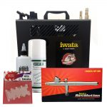 Iwata Professional Nail Art Kit with Power Jet Pro Compressor