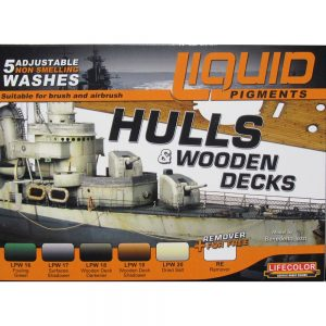 LifeColor Liquid Pigments Hulls & Wooden Decks set