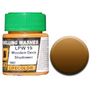 LifeColor Liquid Pigments Wooden Deck Shadower (22ml)
