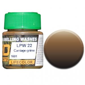 LifeColor Liquid Pigments Carriage Grime (22ml)