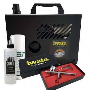 Iwata Professional Make-Up Kit with Smart Jet Pro Compressor