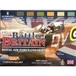 LifeColor Battle of Britain RAF Set (22ml x 6)