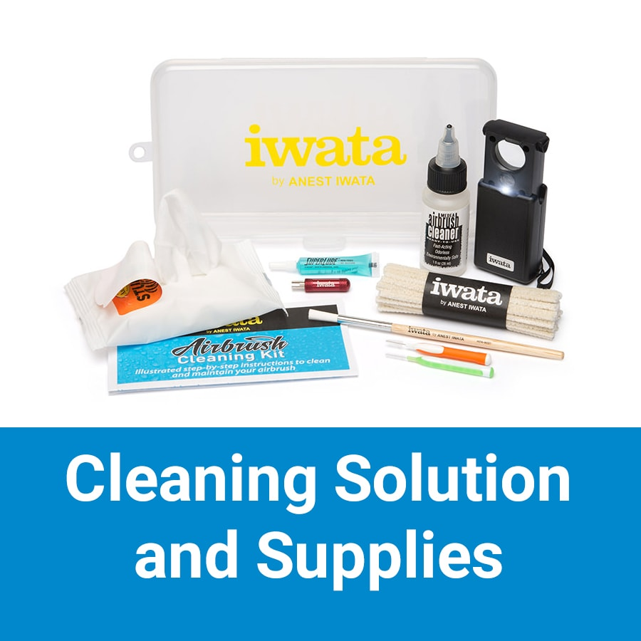 Cleaning Solution and Supplies