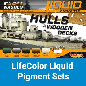 LifeColor Liquid Pigments Sets
