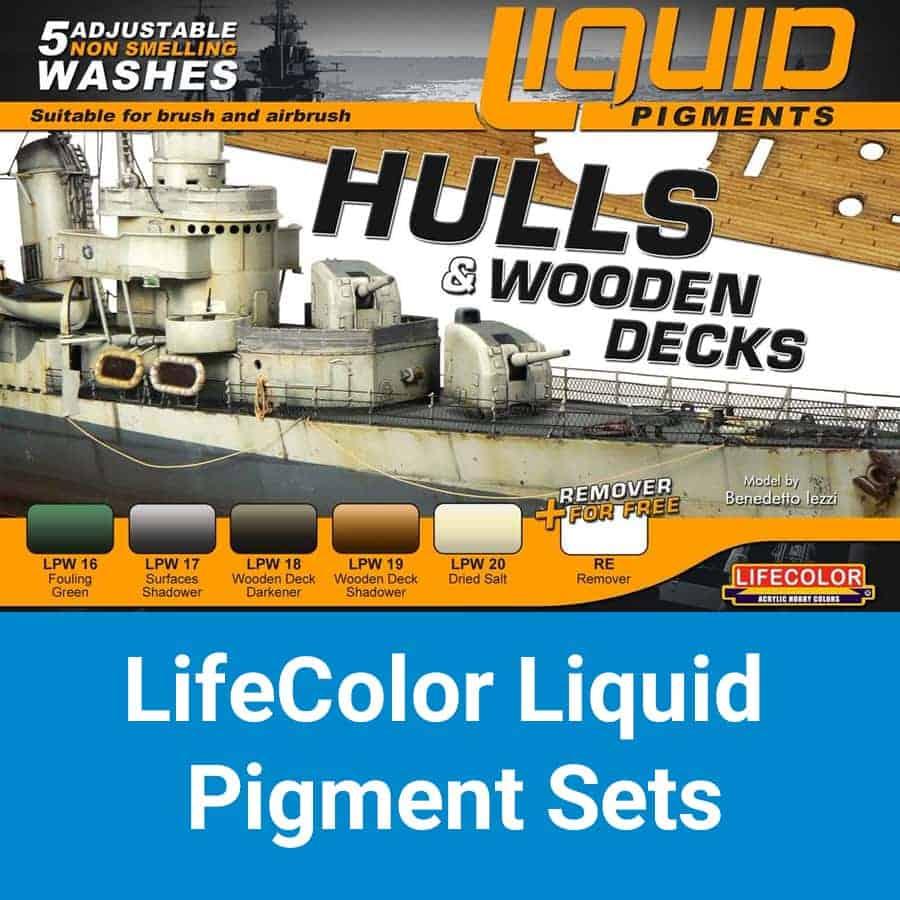 LifeColor Liquid Pigments Sets