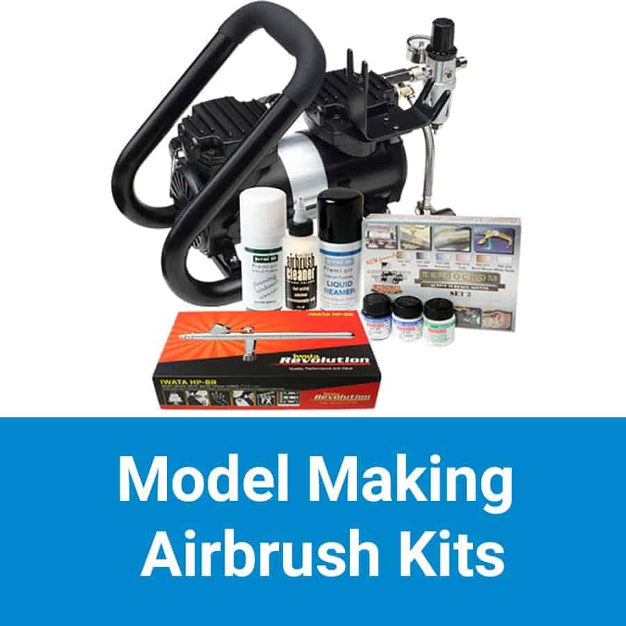 Scale Model Airbrush Kits
