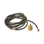 Badger 5FT Vinyl Hose with BSP Adapter