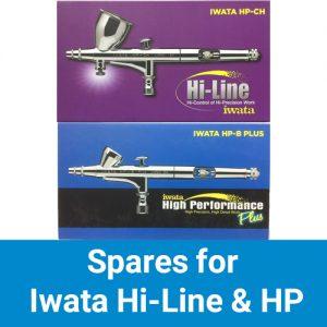 Iwata Hi-Line & HP-PLUS Series Airbrush Spares