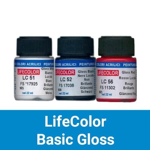 LifeColor Basic Gloss