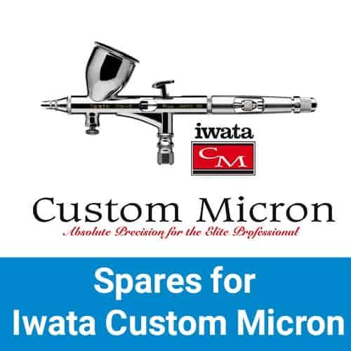 Iwata Custom Micron & Micron Plus Airbrush Spares