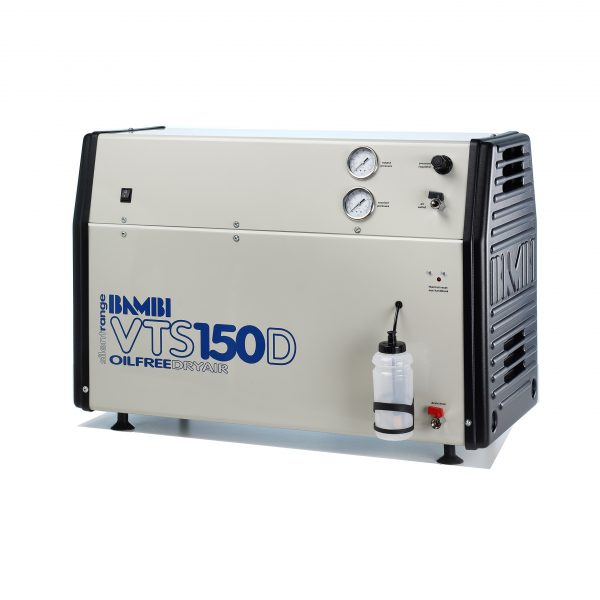 Bambi VTS150D Oil Free Silent Compressor with Dryer
