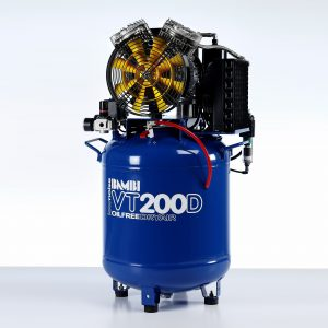 Bambi-vt200d-oil free ultra quiet compressor with dryer