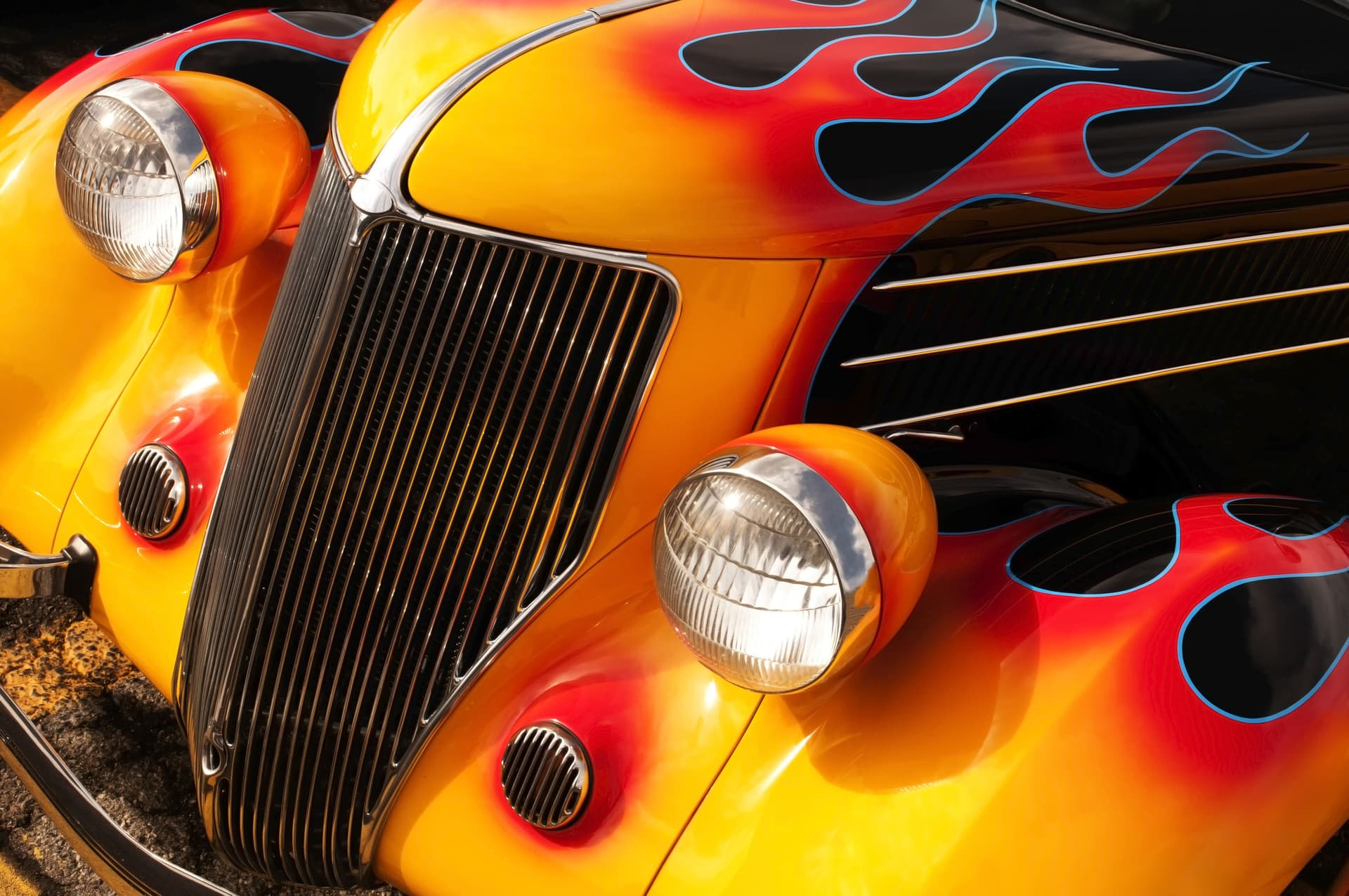Hot Rod Flames Graphic Air