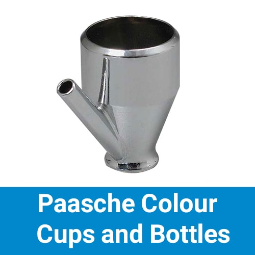 Paasche Colour Cups and Bottles