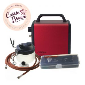 Sparmax ARISM Mini Kit (Burgundy) Recommended by Cassie Brown Sugarcraft Specialist