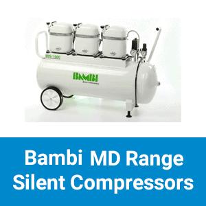 Bambi MD Range Silent Compressors